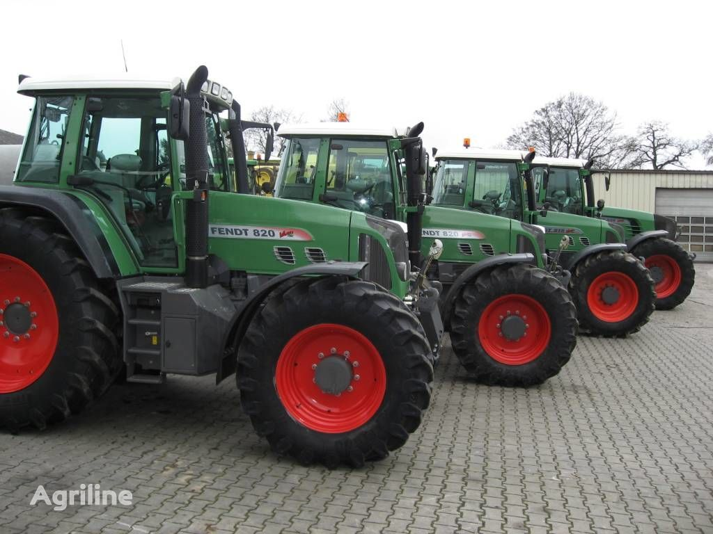 FENDT 100-260 PS wheel tractor