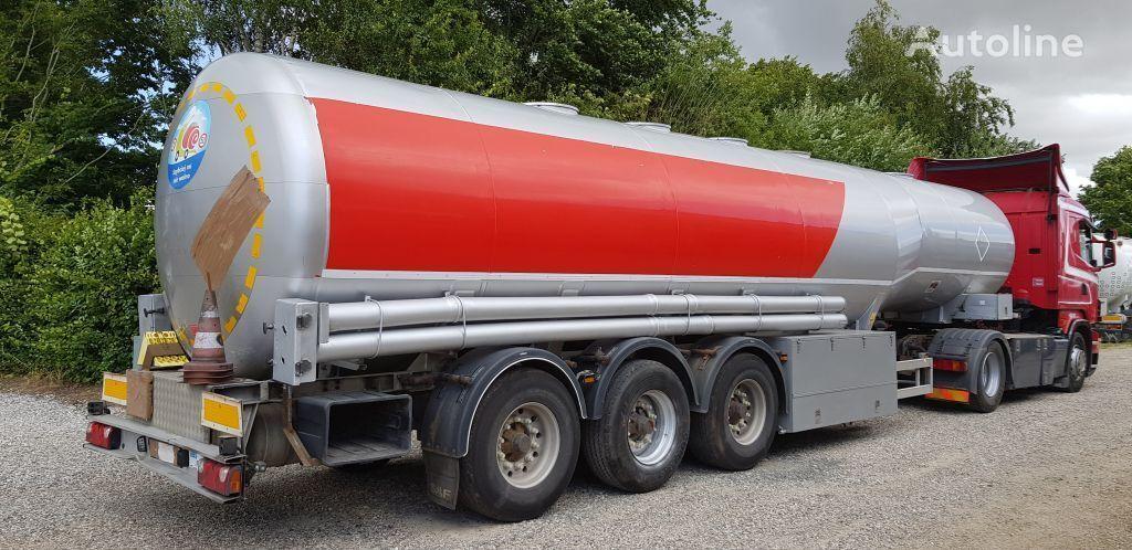 KASSBOHRER Tank 40000 Liter Petrol/Fuel ADR fuel tank trailer