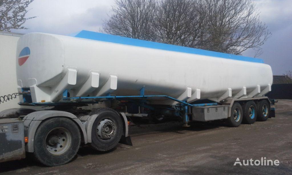 KASSBOHRER Tank ADR 40000 Liter Pomp fuel tank trailer