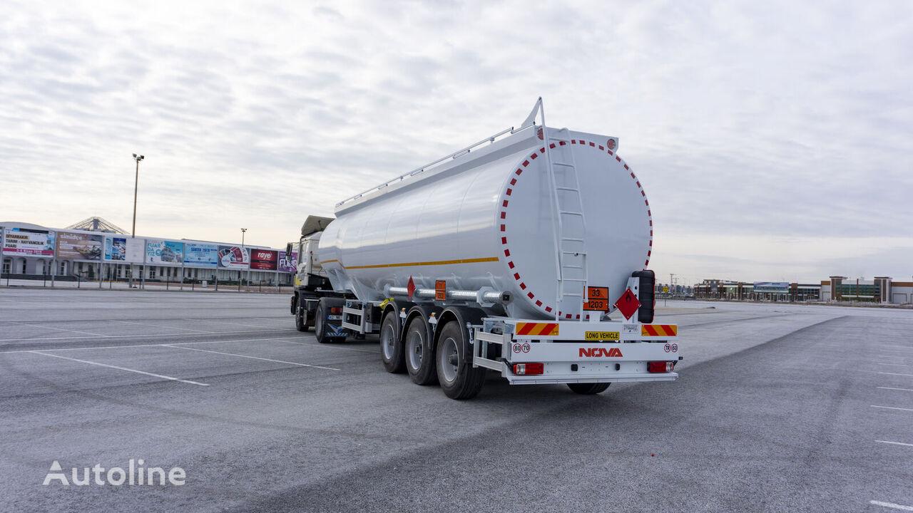 new NOVA Bottom loading Fuel Tanker Trailer 45.000 lt  fuel tank trailer