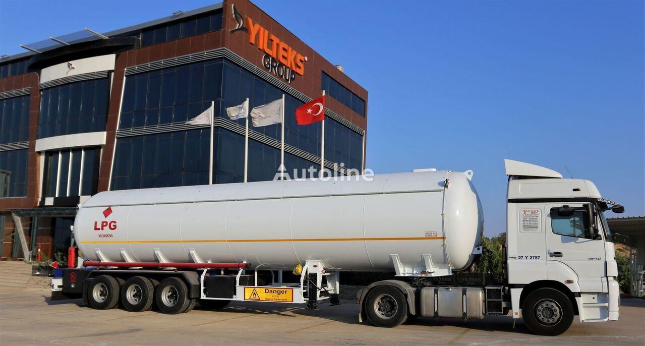 new 60 M3 LPG SEMI TRAILER  gas tank trailer