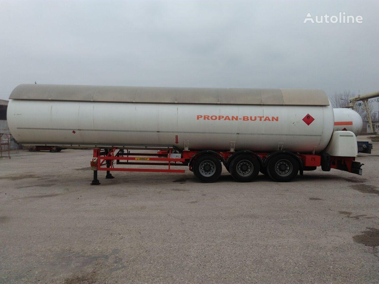 ACERBI OMT 307 gas tank trailer
