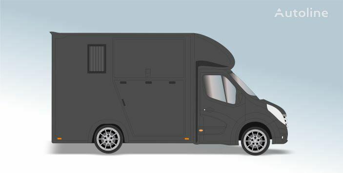 RENAULT Master T35 2.3 dCi L2 Paardenvrachtwagen horse transporter
