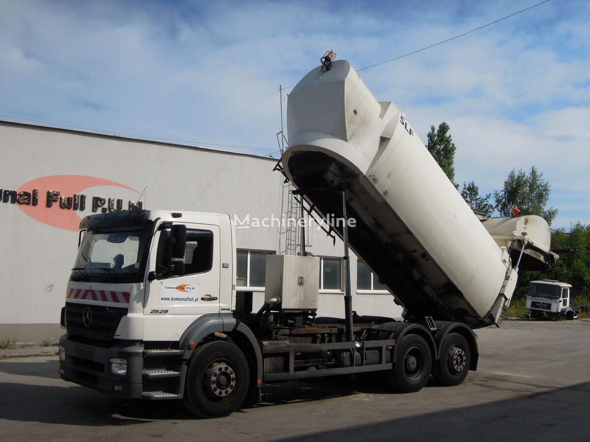 MERCEDES-BENZ Axor 2529 śmieciara podwozie wywrotka do zboża  166.000km garbage truck