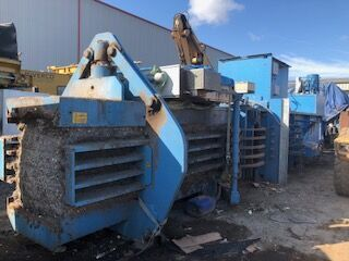 Paal Baler waste recycling plant