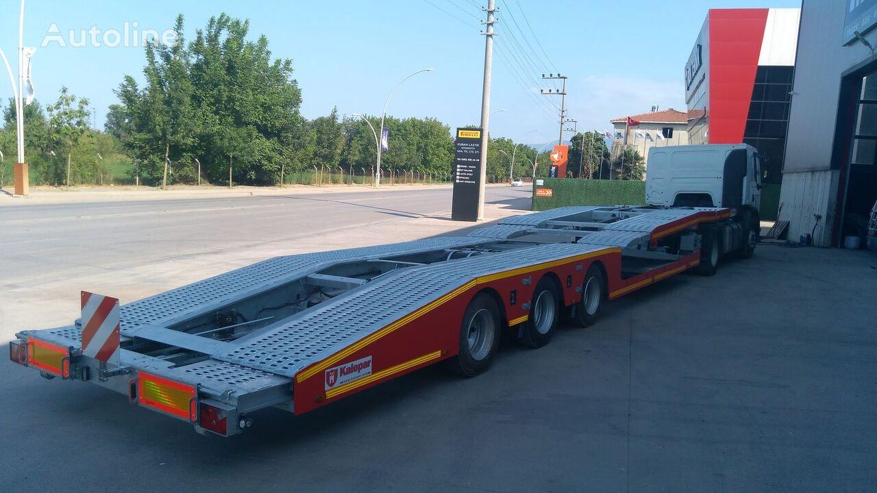 new Kalepar KLP334v1 TRUCK CARRIER car transporter semi-trailer