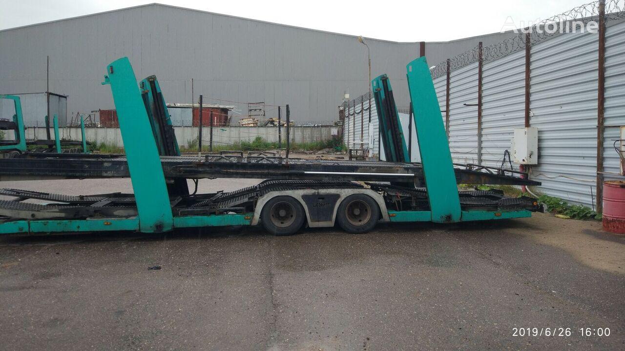 LOHR Eurolohr 1.21 car transporter semi-trailer