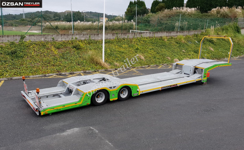Ozsan Trailer 2 AXLE TRUCK CARRIER EXTENDABLE NEW MODEL OZS-TCE220 car transporter semi-trailer