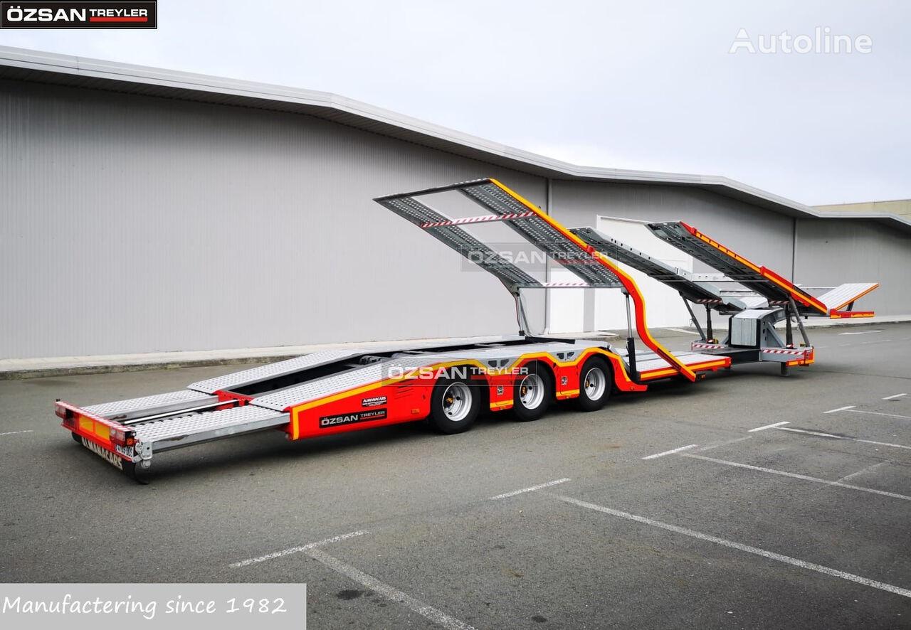 new Ozsan Trailer 3 AXLE TRUCK CARRIER ALPHA NEW MODEL  car transporter semi-trailer