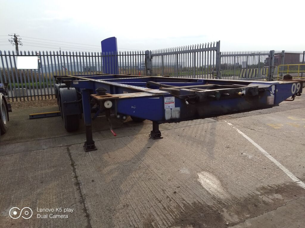 MONTRACON container chassis semi-trailer