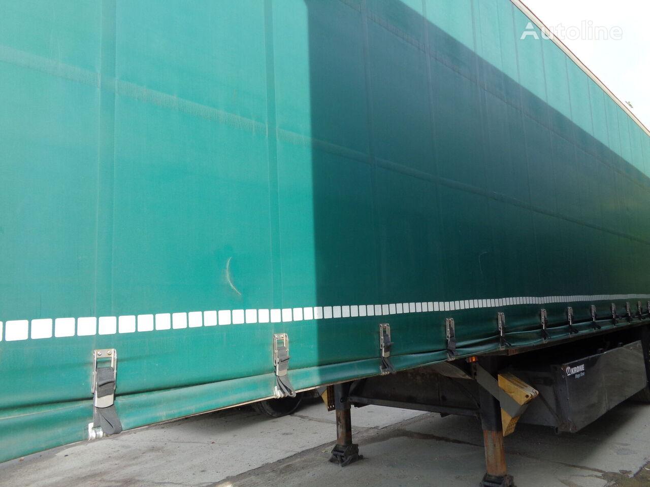 KRONE SDP 27 curtain side semi-trailer