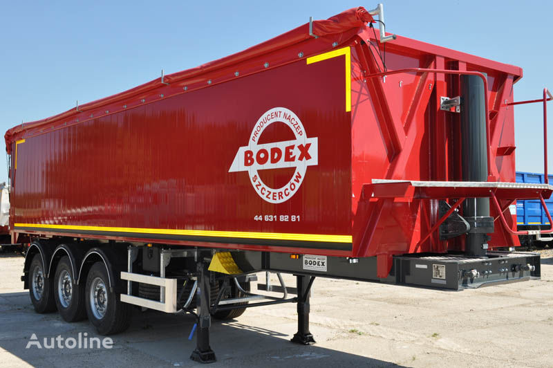 new BODEX KIS 3B grain truck semi-trailer