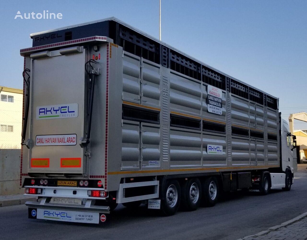 new AKYEL TREYLER Akyel MODEL LVL1 Livestock Semi Trailer  ( double deck ) livestock semi-trailer