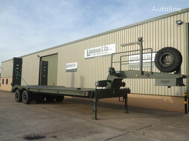 BROSHUIS 2APAS-72 low bed semi-trailer
