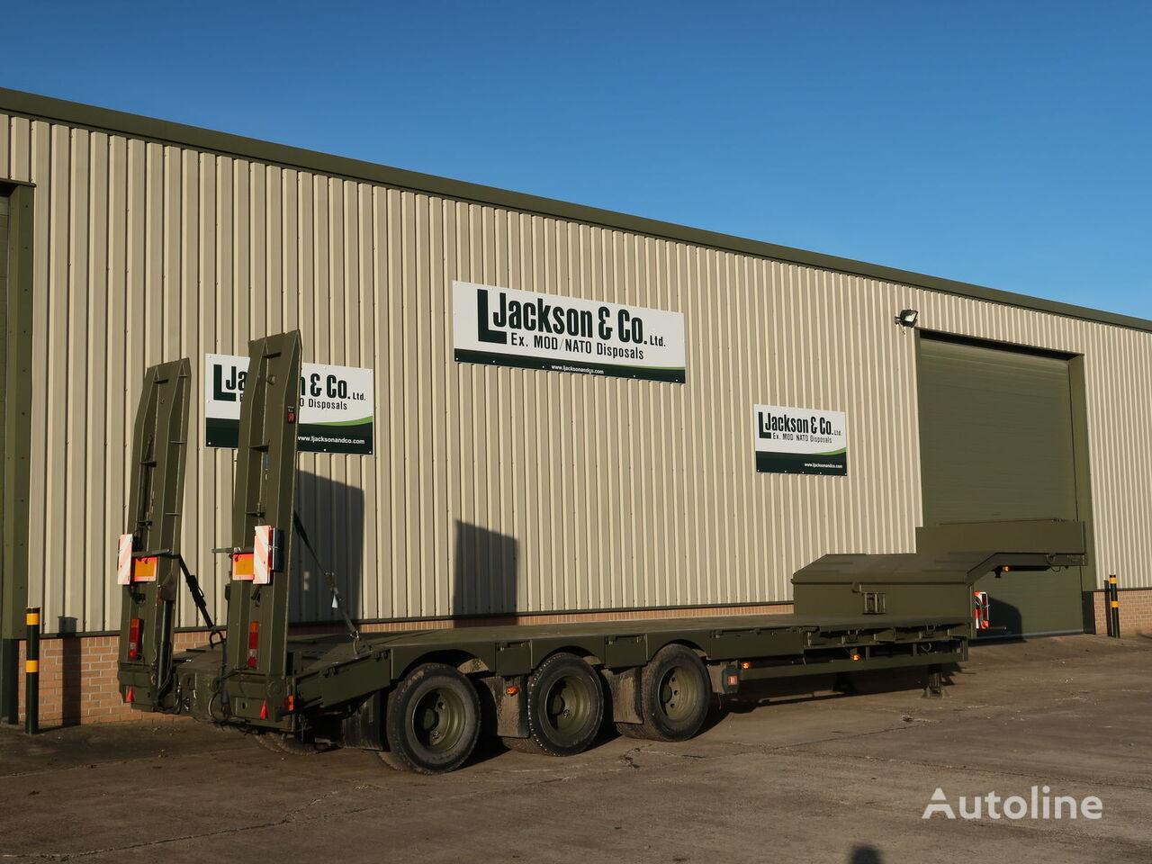 BROSHUIS E2130 low bed semi-trailer