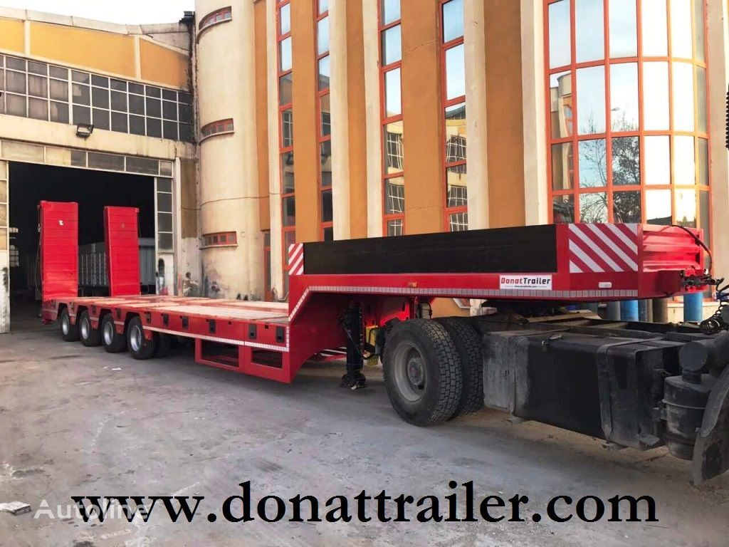 new DONAT Extendable Lowbed  low bed semi-trailer