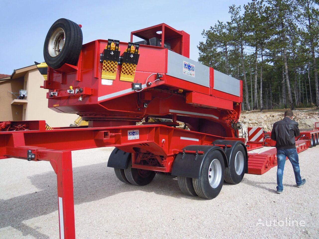 FAYMONVILLE STBZ-4VA low bed semi-trailer