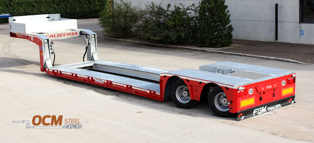 FGM Extendable 35 low bed semi-trailer