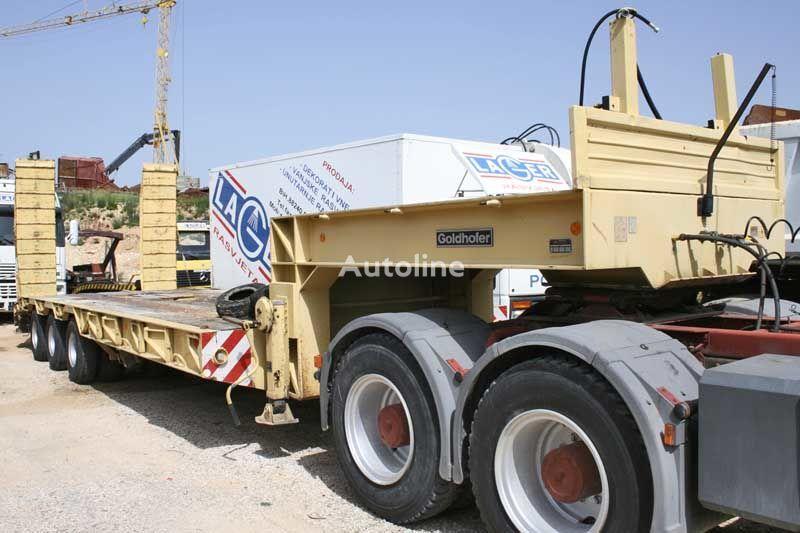 GOLDHOFER low bed semi-trailer