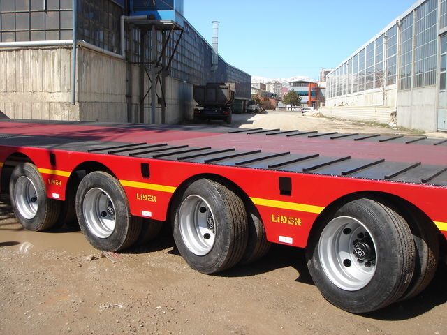 new LIDER 2018 MODELS YEAR NEW LOWBED TRAILER FOR SALE low bed semi-trailer