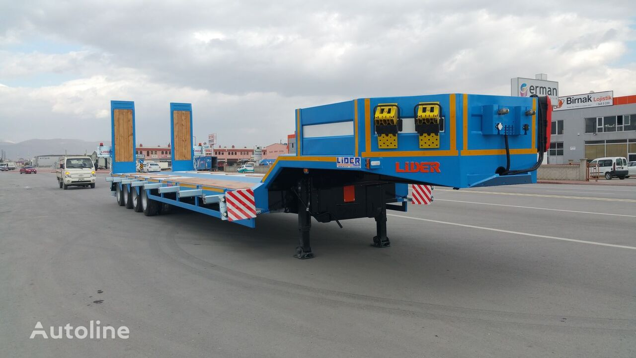 new LIDER 2019  model new directly from manufacturer company available sel low bed semi-trailer