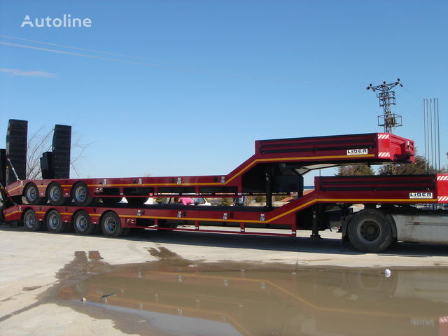 new LIDER NEW remorque surbaissée 2018 YEAR (MANUFACTURER COMPANY) low bed semi-trailer