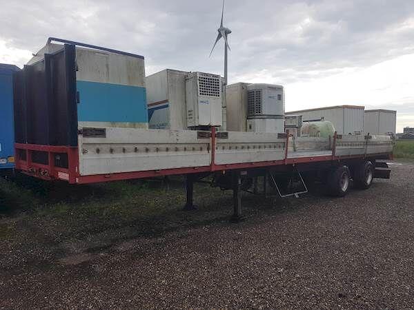 GROENEWEGEN DRO-12-20 platform semi-trailer