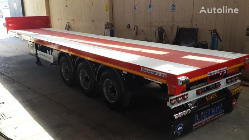 new LIDER 2019 MODEL NEW DIRECTLY FROM MANUFACTURER FACTORY AVAILABLE READ platform semi-trailer