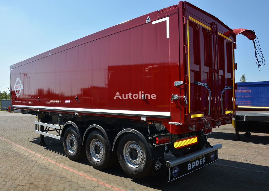 new BODEX KIS aluminowe 50m3 tipper semi-trailer