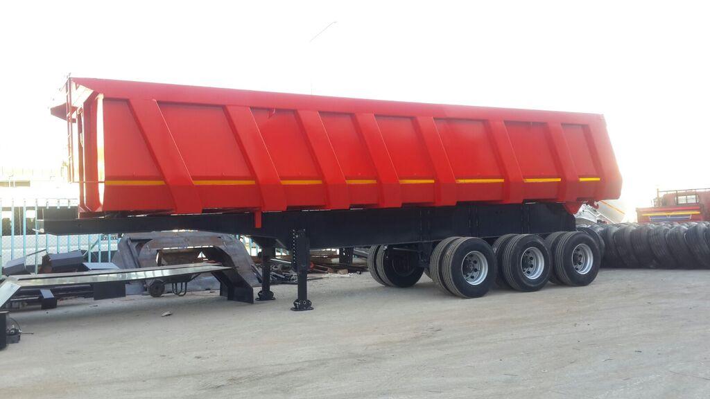 new NOVA 22 to 45 cbm Rock Type Tipper Trailer tipper semi-trailer