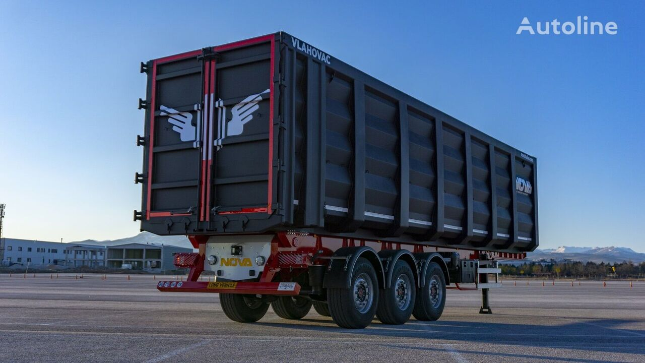 new NOVA Accordion - Scrap Tipper Trailer 30 to 70 m3  tipper semi-trailer