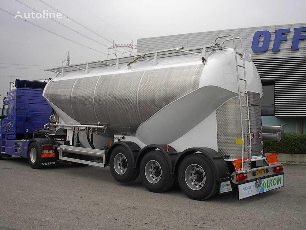 new MENCI SM 44 silo tank trailer