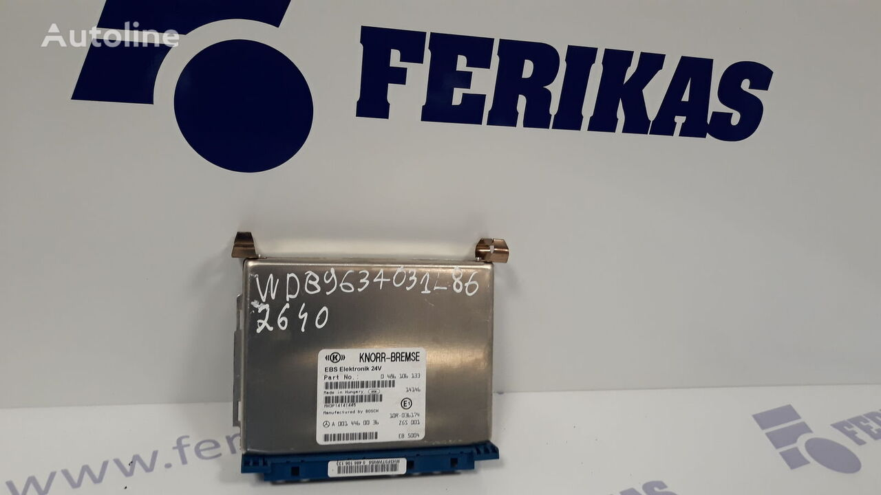 KNORR-BREMSE control unit for MERCEDES-BENZ Actros MP4 EURO6 tractor unit
