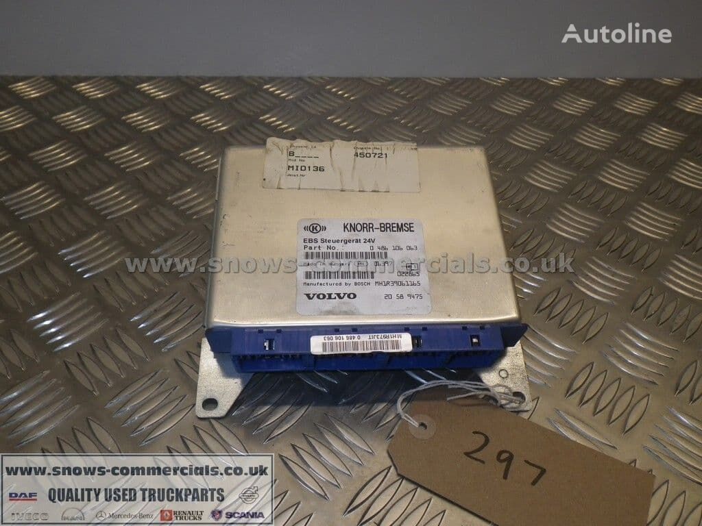 KNORR-BREMSE ECU Volvo 20589475 control unit for VOLVO truck