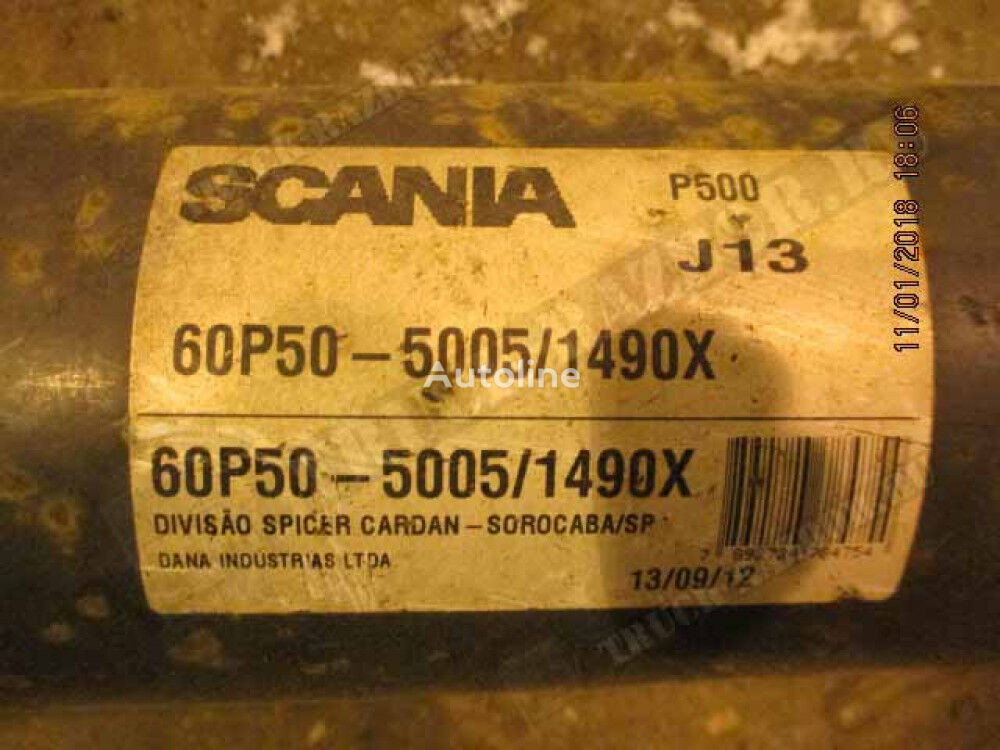 SCANIA drive shaft for SCANIA tractor unit