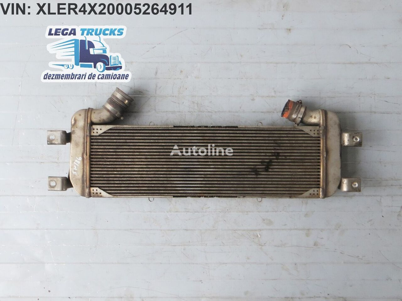 SCANIA Radiator EGR engine oil cooler for SCANIA R  tractor unit