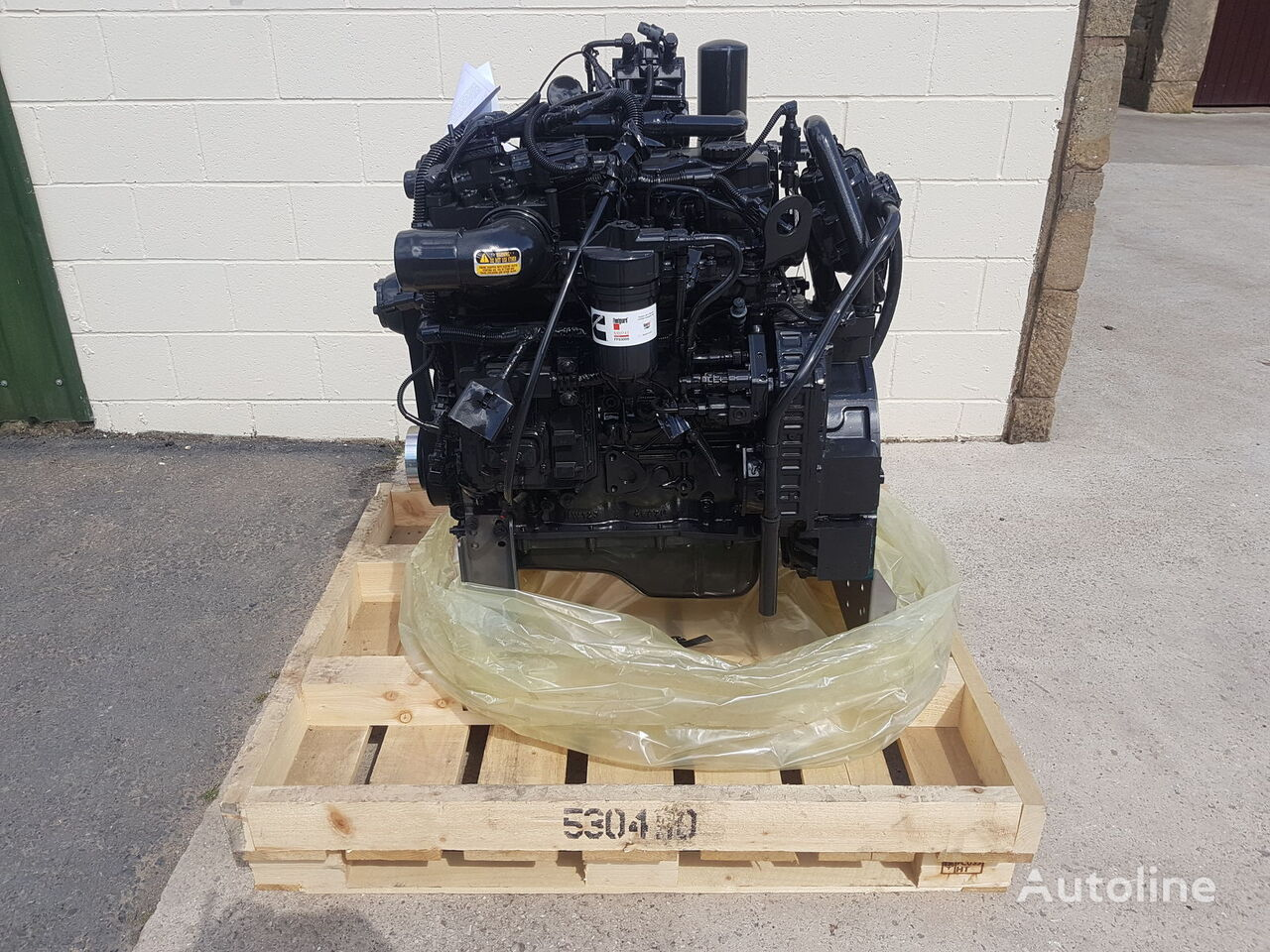 new CUMMINS QSB 4.5 engine for articulated dump truck