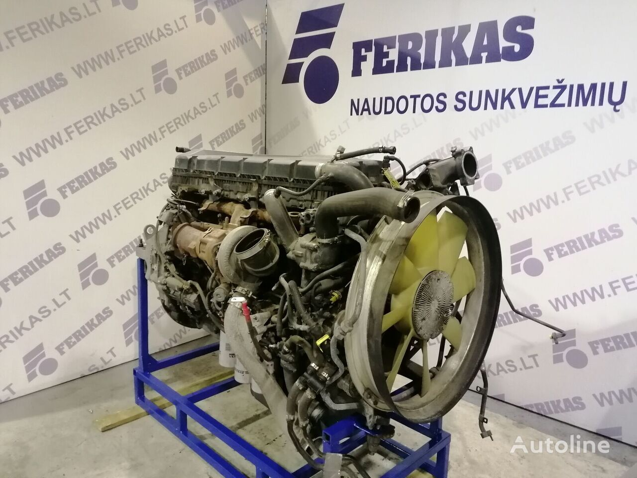 RENAULT T eu6 DTI 11 460AG engine engine for tractor unit