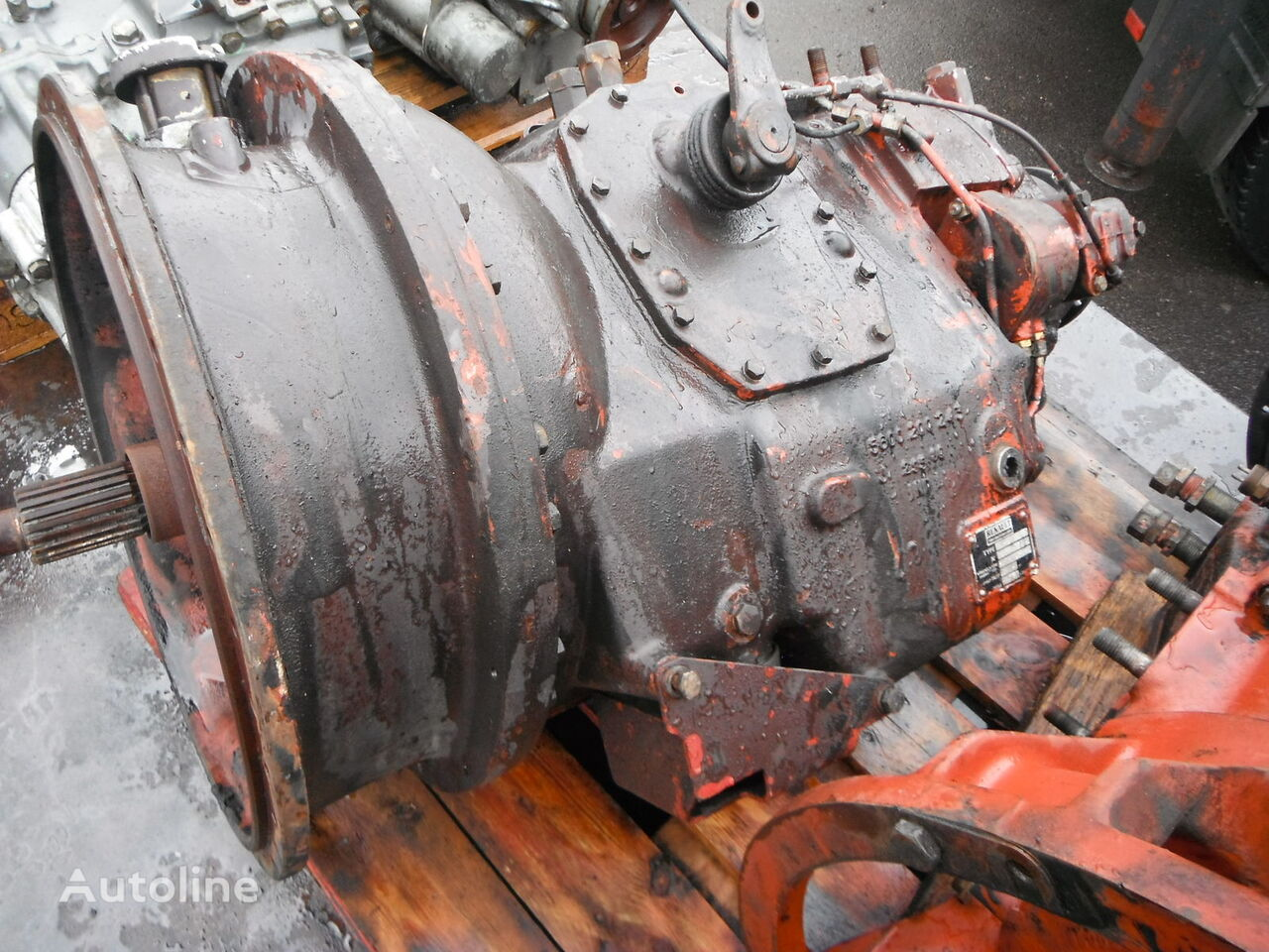 RENAULT B18 gearbox for RENAULT tractor unit
