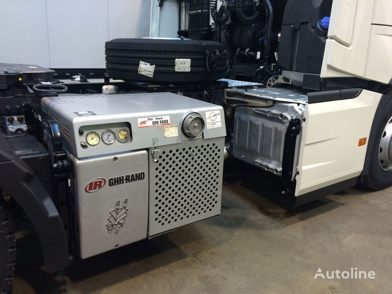 GHH Rand CS 85 CS1050 Riwo pneumatic compressor for tractor unit