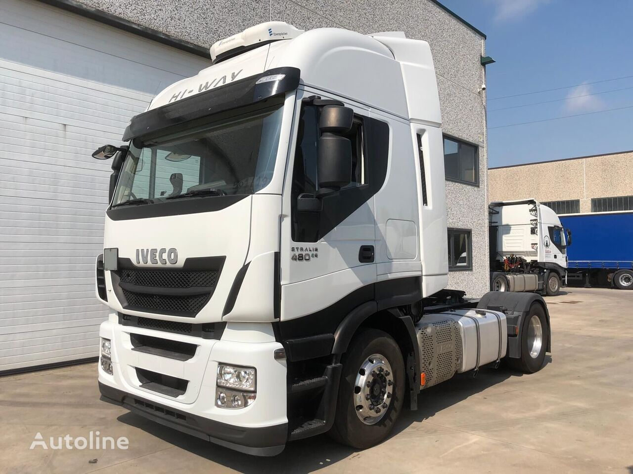 IVECO STRALIS AS440S48 EURO 6 KM 200.000 tractor unit