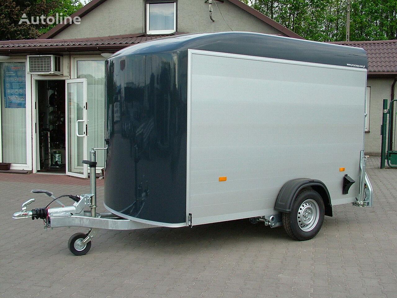 new Cheval liberte closed box trailer