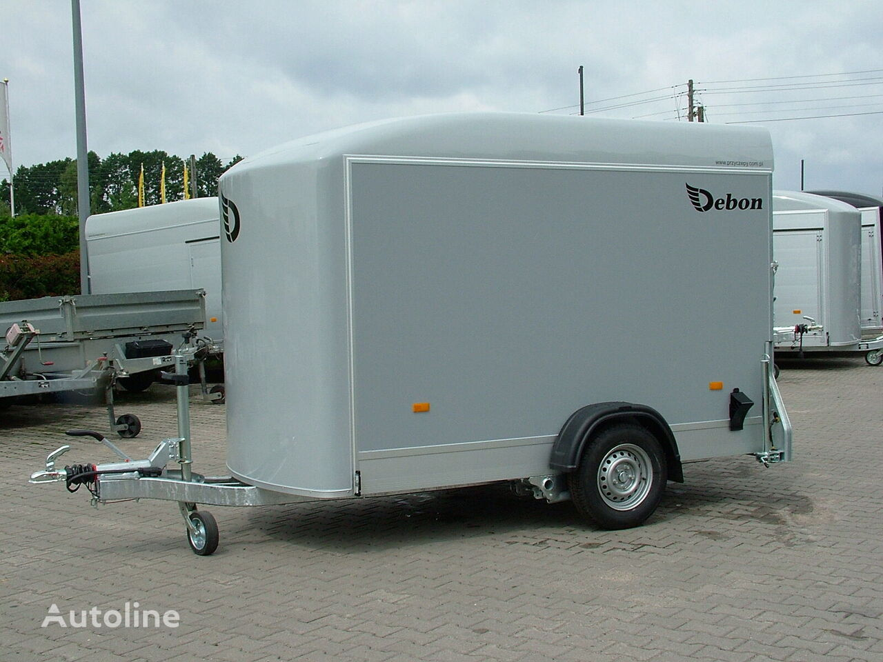 new Cheval liberte Przyczepa Kontener Cargo C 300 Przyczepa zabudowana i zamykana closed box trailer