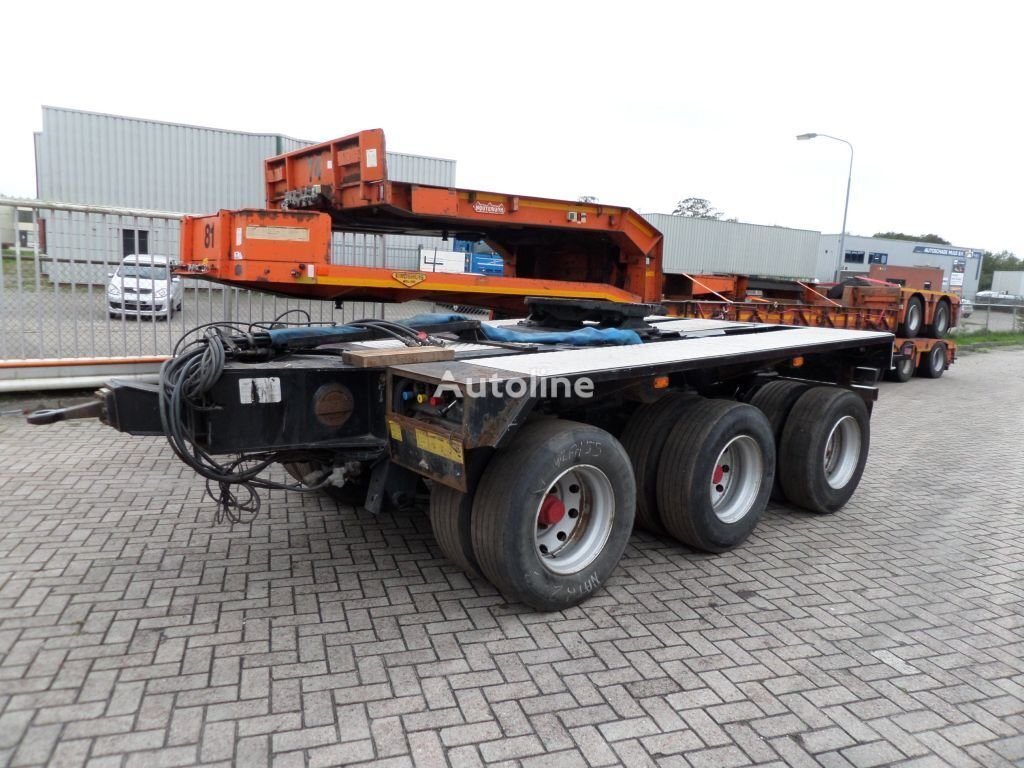 BROSHUIS 3AD-30 / 3 axle dolly dolly trailer