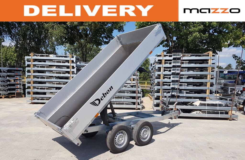new Cheval liberte PW 2.3 310 x 186cm GVW 2600kg dump trailer