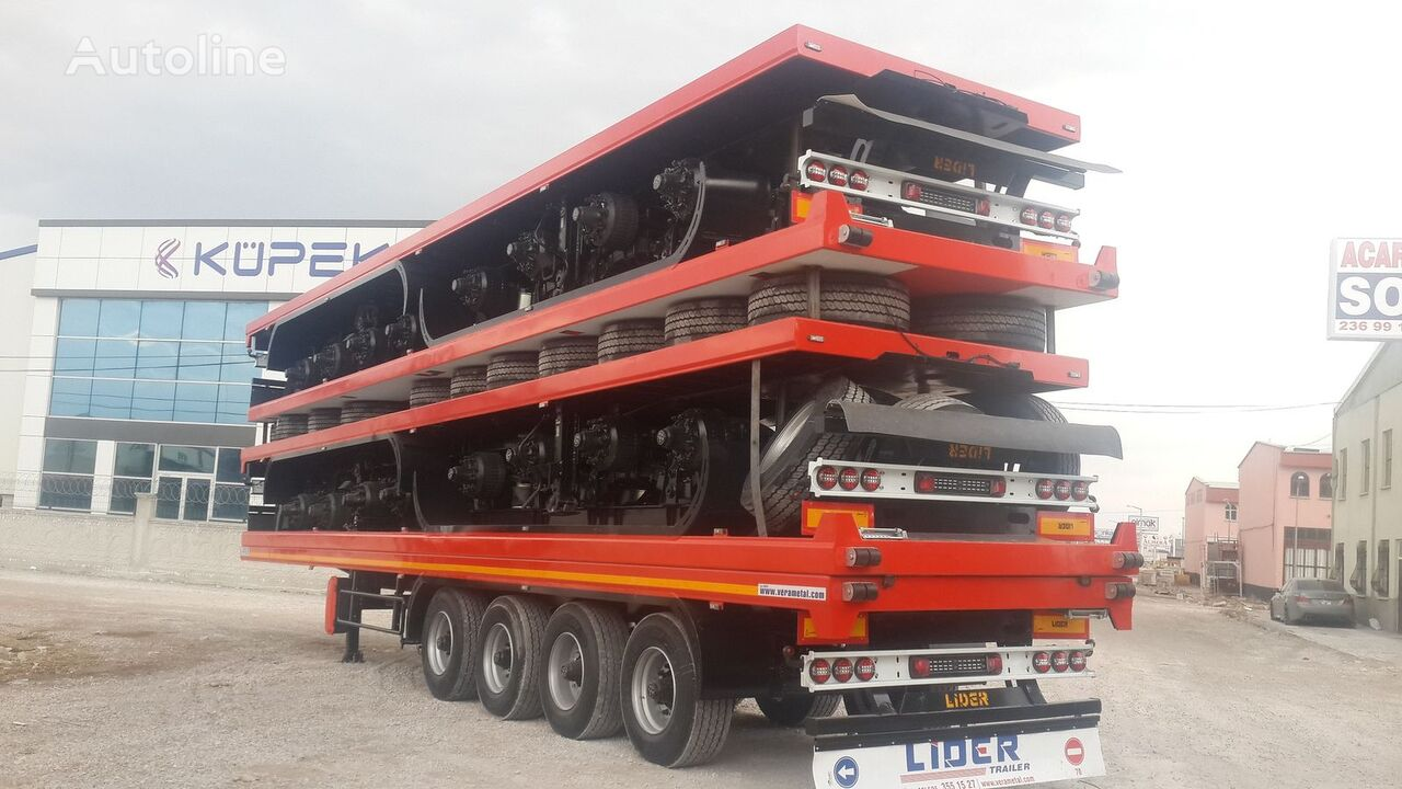 new LIDER 2019 YEAR NEW TRAILER FOR SALE (MANUFACTURER COMPANY) flatbed trailer
