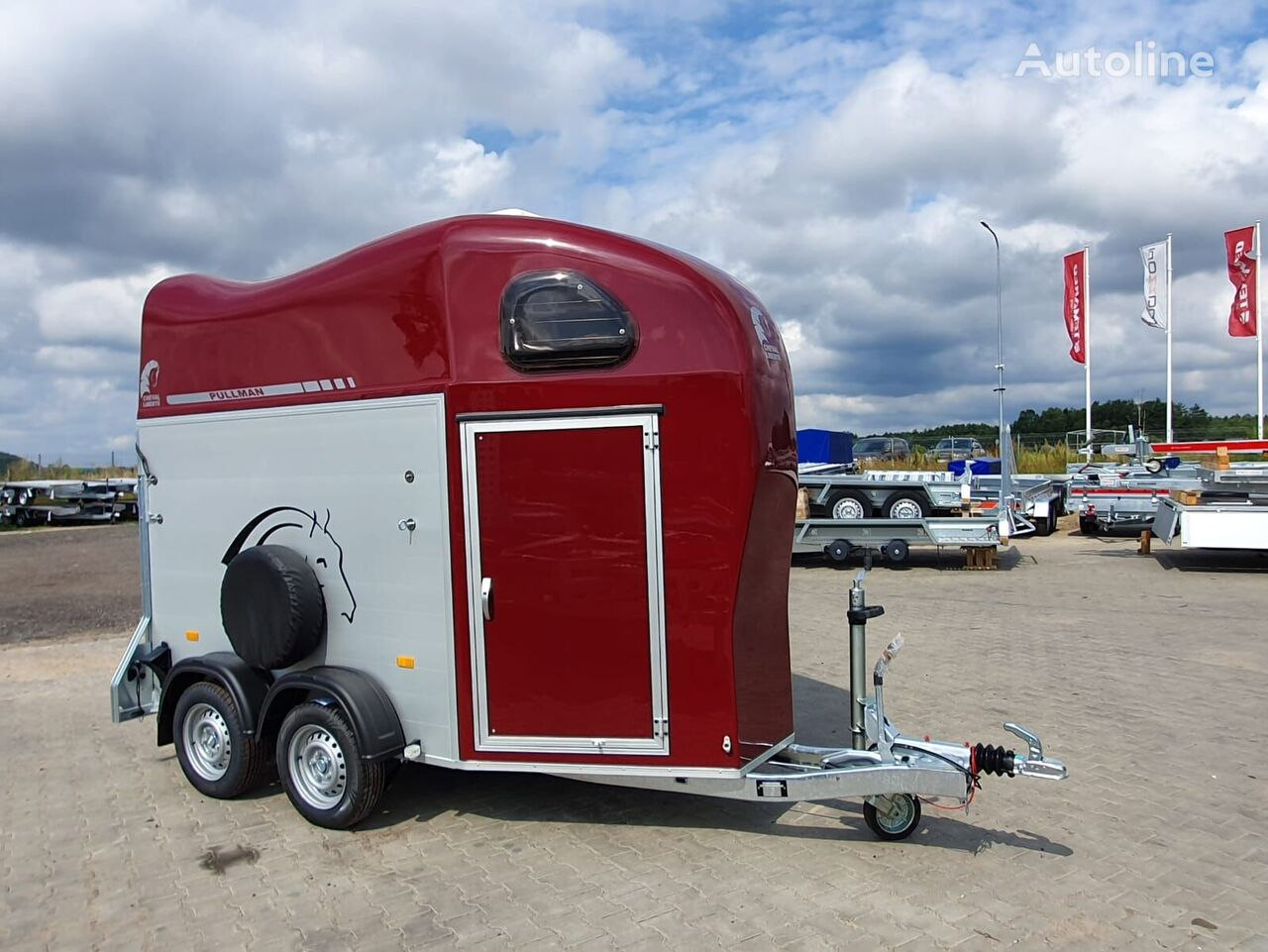new Cheval liberte Gold 1 one horse trailer  horse trailer