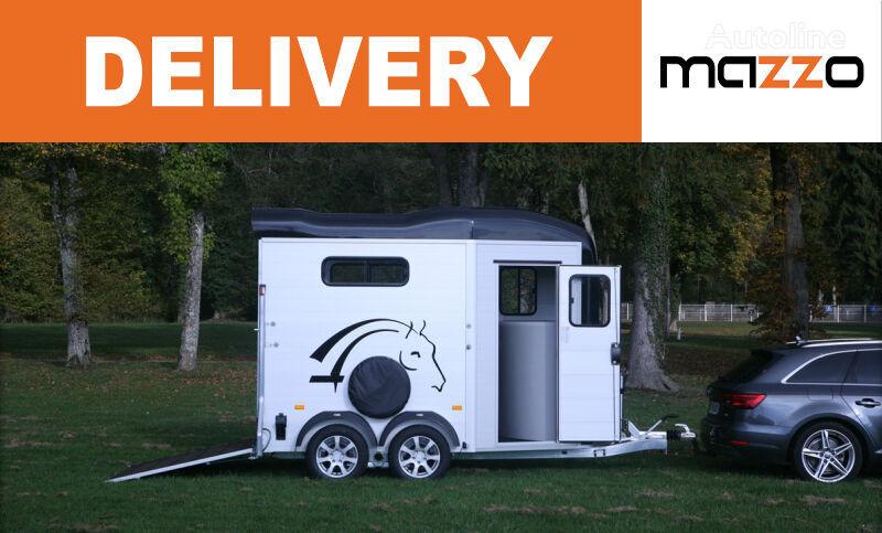 new Cheval liberte Touring JUMPING + saddlery two horses trailer horse trailer