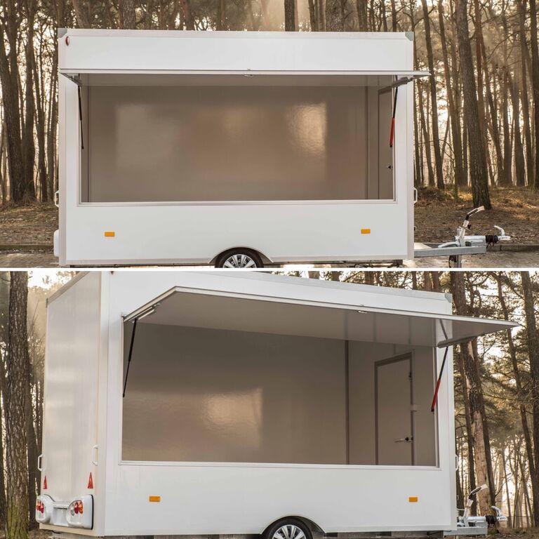 new Trailer | Gastronomiczna | Catering Trailer | Food Truck vending trailer
