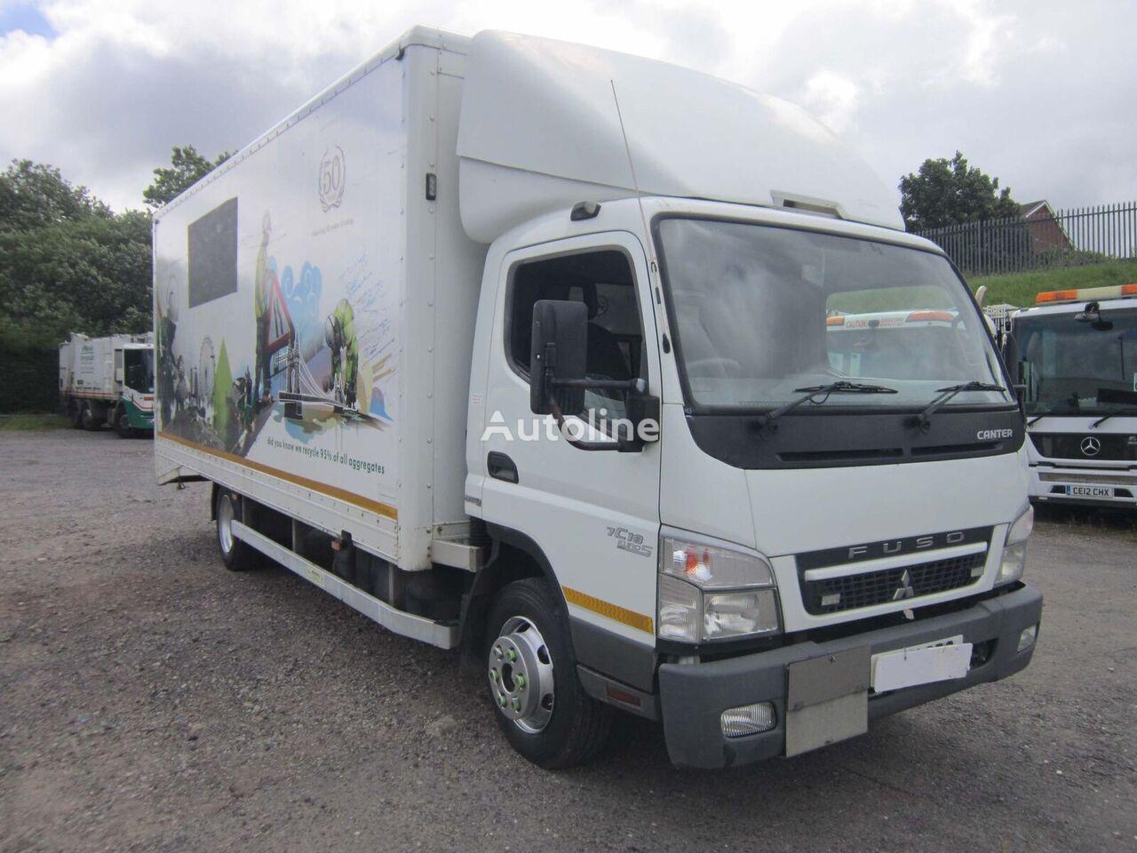Mitsubishi Fuso CANTER 7C18 4X2 7.5TON BOX VAN C/W ROLLER SHUTTER DOORS box truck